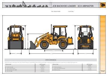 JCB BACKHOE LOADER | 2CX AIRMASTER - Plant Hire UK Limited