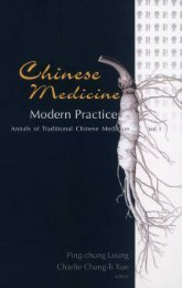Chinese Medicine - Modern Practice (252 pages)