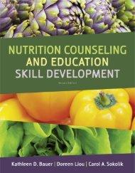 Basic Nutrition Counseling Skill Development, 2nd ... - CengageBrain