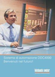 Sistema di automazione DDC4000 - Kieback & Peter GmbH