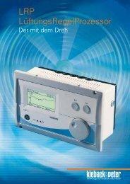 LRP LüftungsRegelProzessor - Kieback & Peter GmbH
