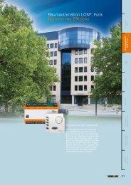 Raumautomation LON®, Funk Komfort mit ... - EnOcean Alliance