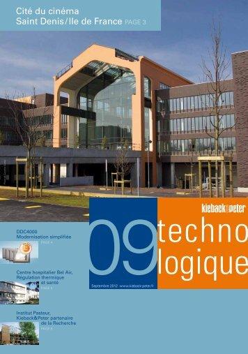 technologique septembre 2012 - Kieback & Peter GmbH