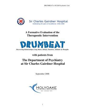 The Department of Psychiatry at Sir Charles Gairdner Hospital
