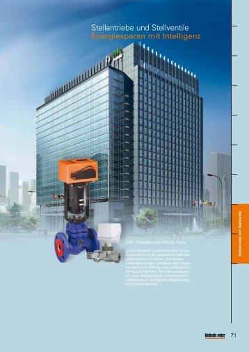 Stellantriebe und Stellventile - Kieback & Peter GmbH