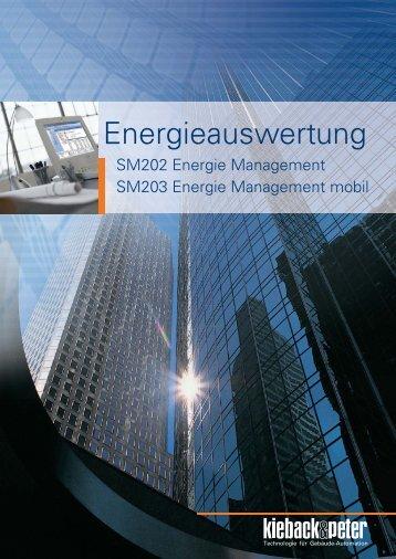 Prospekt Energieauswertung - Kieback & Peter GmbH