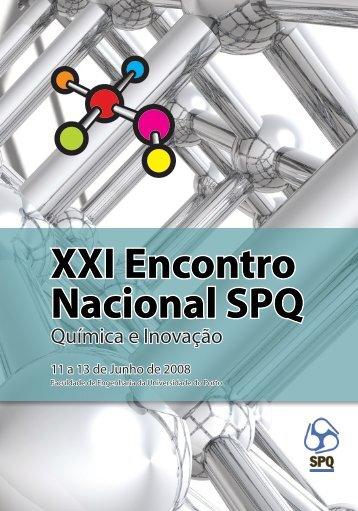 XXI Encontro Nacional SPQ - Faculdade de Engenharia da ...