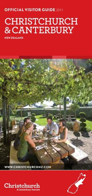 Christchurch & Canterbury Official Visitor Guide - Christchurch and
