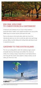 Christchurch & Canterbury Official Visitor Guide - Christchurch and - Page 4