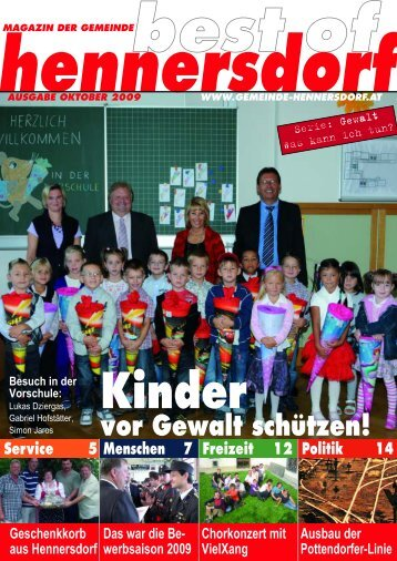 Kinder vor Gewalt schützen! - Gemeinde Hennersdorf