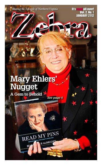 Mary Ehlers' Nugget - The Zebra