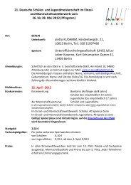 21. Deutsche Schüler- und Jugendmeisterschaft in Berlin vom - DSkV