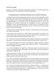 Der Begriff des Rechtsstaates und seine historische Entwicklung