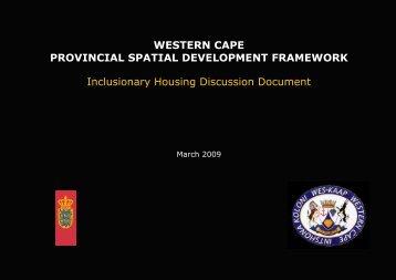 Inclusionary Housing - Urban Environmental Management ...