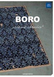 Download Boro brochure as Pdf. - Jan Kath