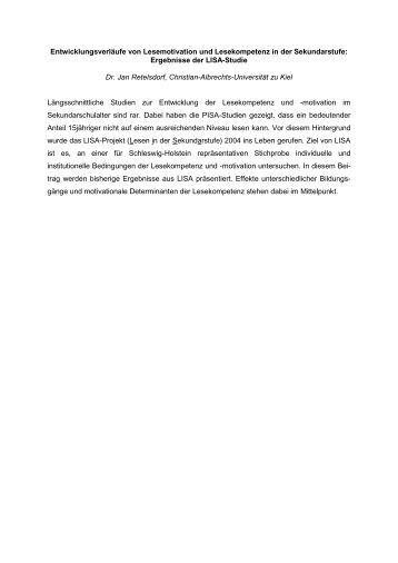 Abstract und Inhalt (deutsch)  Abstract und In...