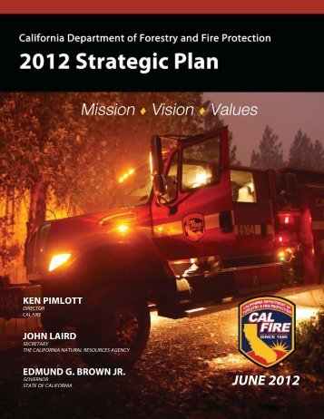 Strategic Plan - California Department of Forestry and Fire ...