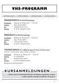 Volkshochschulprogramm Sommersemester 2011 - Waidhofen an ... - Seite 5