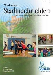 Volkshochschulprogramm Wintersemester 2012 (1,97 MB) - .PDF