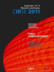 CIRSE 2011 - CIRSE.org