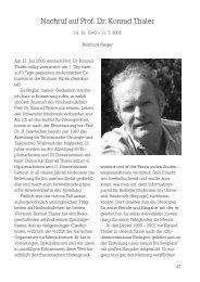 Nachruf auf Prof. Dr. Konrad Thaler - Deutsche Zoologische ...