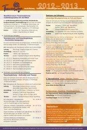Übersicht Gesamtprogramm 2012 - 2013 - Trauer-Wege-Leben