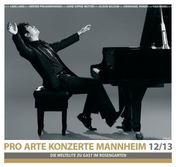 Saisonprospekt 2012/2013 - Odeon Concerte