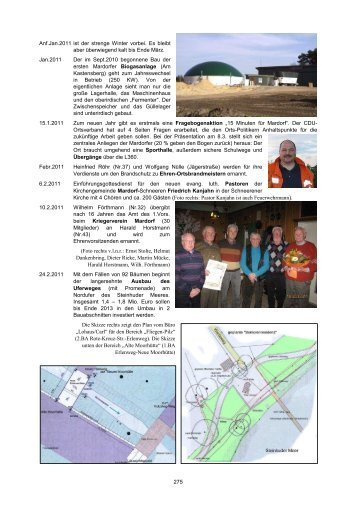 275 Anf.Jan.2011 ist der strenge Winter vorbei. Es bleibt ... - Mardorf