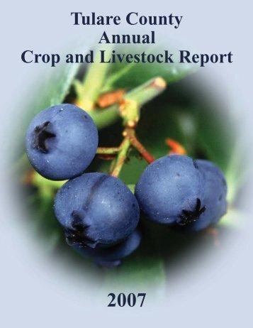 Ag Crop Report 2007.indd - Agricultural Commissioner/Sealer