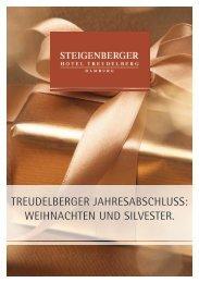 Treudelberger Jahresabschluss - Steigenberger Hotels and Resorts