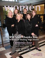 December/January 2011/2012 - Coulee Region Women Magazine