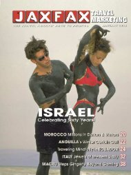 JAXFAX Travel Marketing Magazine - JAXFAX Editorial Archives ...