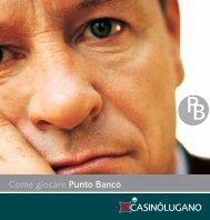 punto banco (Page 1) - Casinò Lugano