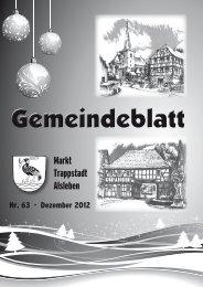 Gemeindeblatt Januar 2013 - Markt Trappstadt
