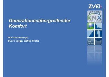 Generationenübergreifender Komfort - KNX