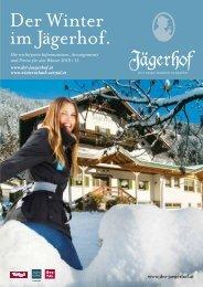 Der Winter im Jägerhof. - Hotel und Gasthof Jägerhof