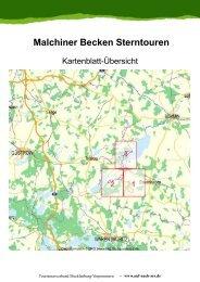 Malchiner Becken Sterntouren - Tourismusverband Mecklenburg ...