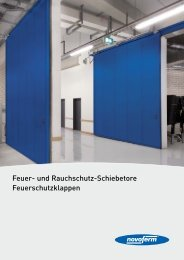 PDF Katalog von Feuer- und Rauchschutz ... - Kiefert GmbH