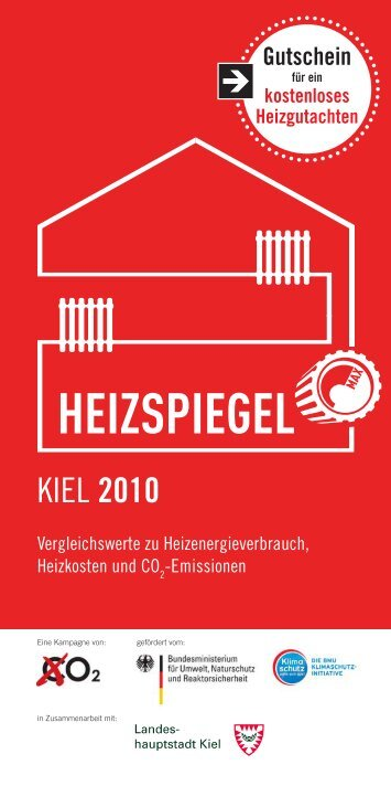 Heizspiegel Kiel 2010 - Landeshauptstadt Kiel