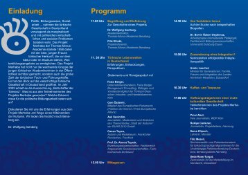 Einladung Programm - LAKA-BW