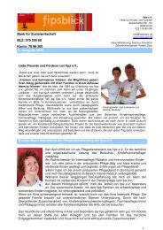 Newsletter 2/2008 - fips e.V.