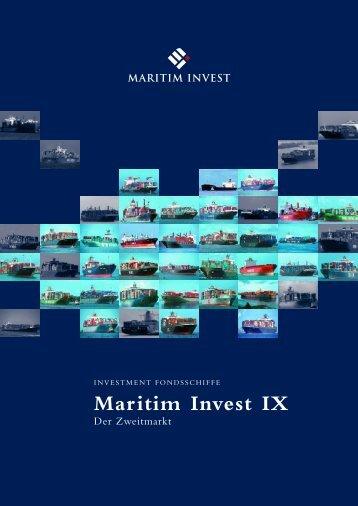 Maritim Invest IX