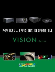 Digital Projection VISION Brochure - AV-iQ