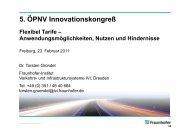 Vortrag Dr. Torsten Gründel (PDF) - ÖPNV Innovationskongress