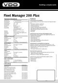Fleet Manager 200Plus - Seite 2