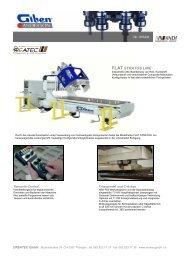 FLAT STRATOS LINE - CNC Kunststoff