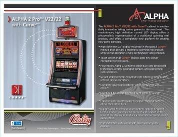 Alpha 2 Pro V22 22 Bally Technologies