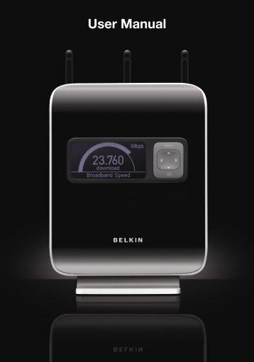 User Manual - Belkin