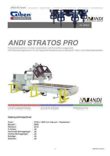 ANDI STRATOS PRO - CNC Kunststoff