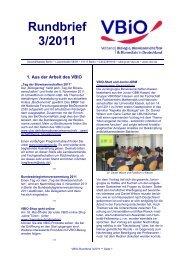 Rundbrief 3/2011 - Deutsche Zoologische Gesellschaft